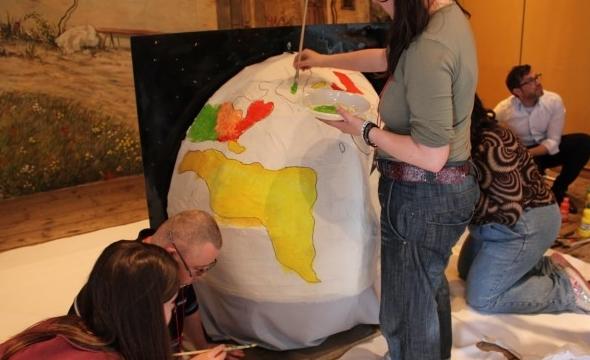 Photo from the World Around World workshop